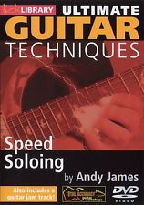 LickLibrary ULTIMATE GUITAR TECHNIQUES SPEED SOLOING Video Lesson DVD Andy James