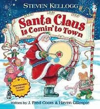 Santa Claus Is Comin' to Town-ExLibrary