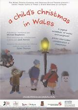 Event Promo Flyer: A Child's Christmas In Wales - Wales Theatre Tour 2014