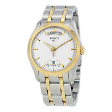 Tissot T-Trend Couturier  White Dial Two-tone Mens Watch T0354072201100