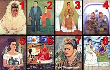 "1 FRIDA KAHLO 8""x10"" QUALITY PHOTO PRINT CHOOSE FROM 80 ART PICTURE IMAGES"