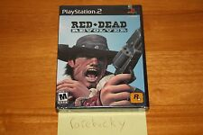Red Dead Revolver (Playstation 2 PS2) NEW SEALED BLACK LABEL W/UPC, MINT!