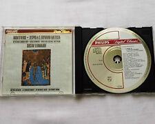 G. LEONHARDT/MONTEVERDI Vespri di S.Giovanni Battista W.GERMANY PDO CD PHILIPS