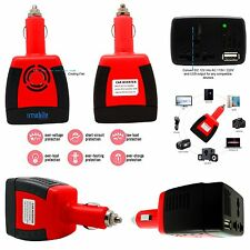 Genuine 150W-200W Universal In Car Power Inverter Adapter With 2.1Amp Usb Port
