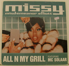 "MISSY MISDEMEANOR ELLIOTT ALL N MY GRILL FEAT. MC SOLAAR 12"" MAXI SINGLE (i311)"