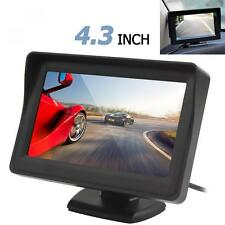 2-CH Video Input 4.3Inch 480 x 272 Color TFT LCD VCR DVD Car Rear View Monitor