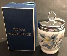 ROYAL WORCESTER PORCELAIN WOODLAND EGG CODDLER W/BOX - ENGLAND