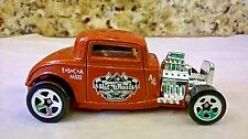 1932 Hot Wheels Metallic Orange HOT Rod Street rodder Diecast Car Auto Toy