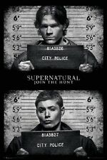24x36 SUPERNATURAL MUGSHOT POSTER Shrink Wrapped