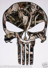 BONEZ Camo SKULL trailer Window Decal Decals Sticker Truck Mossy Oak Real Tree
