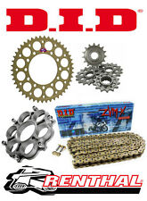 Renthal / DID 520 Race Chain & Sprocket Kit with Carrier for Ducati 1198 / 1198S