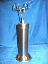 Standzylinder, Zylinder Instrumente, mit Kornzange