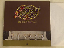 PEPE LIENHARD BAND - It's the right Time LP Ariola Club Edition
