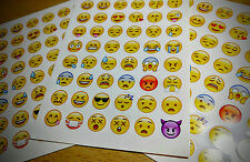 NEW CUTE 48 EMOJI SMILE VINYL STICKERS FOR LAPTOPS NOTEBOOK SCRAPBOOK DECAL LOVE