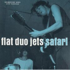 FLAT DUO JETS 'Safari LP NEW cramps psychobilly dex romweber jack white stripes