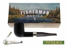 PETERSON Fisherman Briar Pipe Shape X 105 Fishtail Limited Edition Free Tool