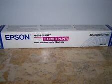 Epson Photo Quality Banner Paper A2(420mm) x 15m