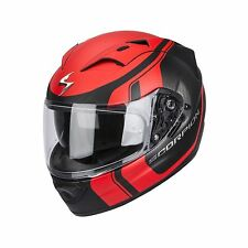 Scorpion EXO-1200 AIR Stream Tour HELMET , Matt-black-red  size XL EXTRA LARGE