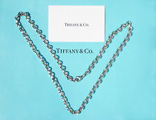 Tiffany & Co Sterling Silver Donut Link 16 Inch Chain Necklace