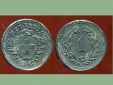 SUISSE 1 rappen 1942 zinc