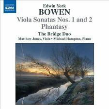 NEW - Bowen: Viola Sonatas Nos. 1 and 2; Phantasy by The Bridge Duo