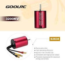 High-Efficiency GoolRC S2838 3200KV Brushless Motor for 1/18 1/16 RC Car F3O6