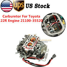 Carburetor Carb Fit For Toyota 22R Engine Electric Choke Type 21100-35520 US
