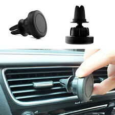 360 Rotating Magnetic Air Vent Mount Stand Car Holder for GPS Cell Phone Samsung