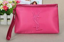 YSL Pink Makeup Cosmetics Bag with handle, Brand NEW!
