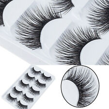 5PairsBeauty Makeup False Eyelashes Long Thick Natural Eye Lashes Extension