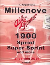 Alfa Romeo Millenove 1900 - Superb Book - Just Published!!