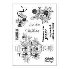 TATTERED LACE CLEAR STAMPS ~ CHRISTMAS TREE