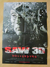 Filmposter * Kinoplakat * A1 * SAW VII  3D - Saw 3D * EA 2010