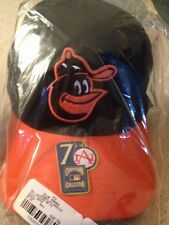 New! VINTAGE Baltimore Orioles Hat/Cap Sz 7 3/4 (Worn from 1966 to 1974)(Away)