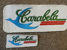 """CARABELA """"NEW OLD STOCK"""" RECTANGLE VINTAGE PATCHES"""