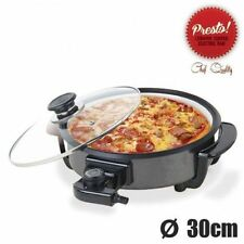 itchen Queen Multi Utility Pan Pizza Pan, Roti Maker, Curry Pan , Multipurpose