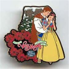 SNOW WHITE & PRINCE MICKEY'S VERY MERRY Christmas Party 2003 LE 2500 DISNEY PIN