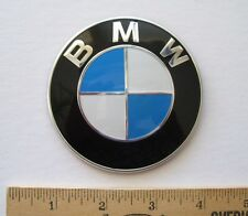 ORIGINAL OEM BMW Emblem ~~ Part # 51 14 7 288 752  ~~ Lightly USED ~~