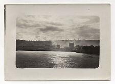 PHOTO Vintage 1910 SENS FRANCE YONNE Coucher de soleil Nuages Paysage