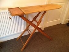 VTG c1930s TIMBER IRONING BOARD sideboard hall side phone table