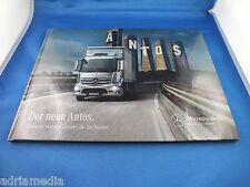 Mercedes Benz Antos Buch Katalog Prospekt Luxus Book Ausgabe 2013 NEU Trucks LKW