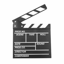 "Large 11"" x 12"" Film Clapperboard Clapper Board Hollywood Movie Stage Prop"