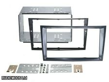Vauxhall Astra H 04on Stealth Black Double Din Car Stereo Fitting Kit CT23VX35