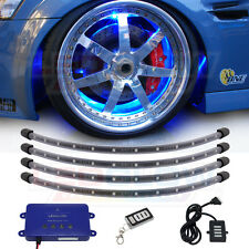 LEDGlow 4pc Wireless Multi Color Underglow Wheel Well Fender LED Neon Lights Kit