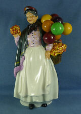 "Vintage 9"" Tall Porcelain Royal Doulton Figurine ""Biddy Penny Farthing"" HN1843"