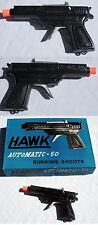 Hawk Automatic-50 Cap Gun Running Shoots Made in Japan New Unused NOS 195060's