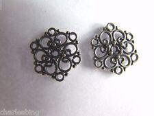 2 X BALI 925 Sterling Silver Chandelier Earring Findings Connectors 16mm