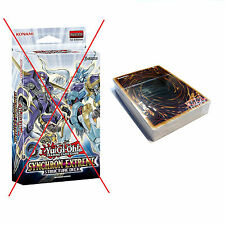 YUGIOH: SYNCHRON EXTREME STRUCTURE DECK - NO BOX -UNUSED SEALED CARDS, MAT+GUIDE