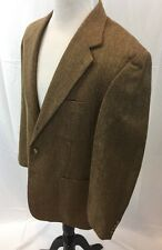 Brooks Brothers 100% Wool 40R Lightweight Tan Tweed Sports Coat Made In USA EUC