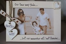 Personalised Photo Frame by Filly Folly! Holiday Memories Gift!